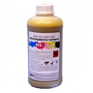 WE-360 eco-solvent DX5/7 Экосольвентные чернила