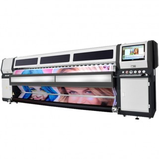 Рулонный широкоформатный УФ-принтер LIYU PZR3204 UV