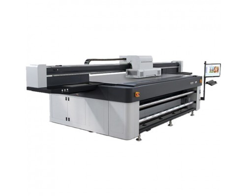 Планшетный широкоформатный УФ-принтер LIYU THOR JET KR 2512-5 UV