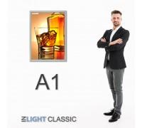 Фреймлайт А1 CLASSIC настенный, клик-рамка
