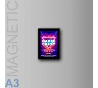 Фреймлед А3 MAGNETIC настенный, магнитная-рамка