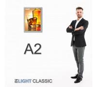 Фреймлайт А2 CLASSIC настенный, клик-рамка