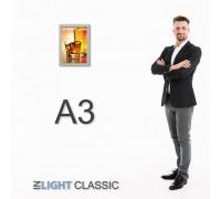 Фреймлайт А3 CLASSIC настенный, клик-рамка