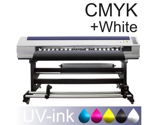 Рулонный широкоформатный УФ-принтер PROFIJET-4180UV (CMYK White)