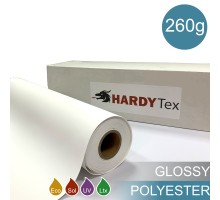 260g ХОЛСТ POLYESTER GLOSSY