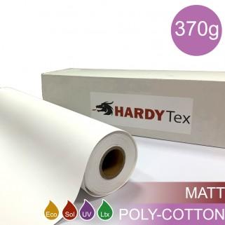 370g ХОЛСТ POLY-COTTON MATTE. Поликоттоновый матовый холст для печати.