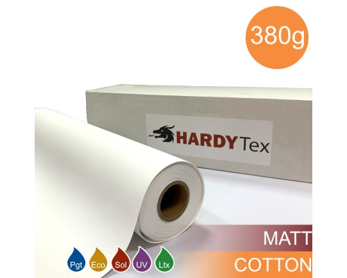 380g ХОЛСТ COTTON MATTE