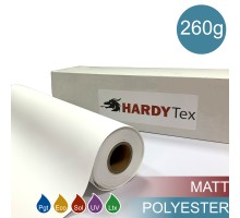 260g ХОЛСТ POLYESTER MATTE
