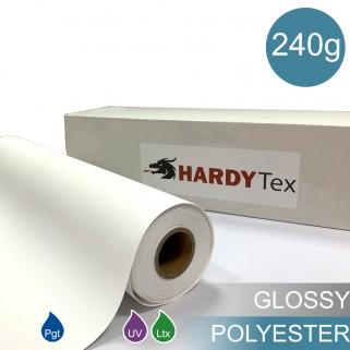 240g ХОЛСТ POLYESTER GLOSSY (WP-600CVG). Полиэстеровый глянцевый холст для печати.