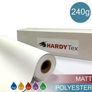 240g ХОЛСТ POLYESTER MATTE (WP-600CVM). Полиэстеровый матовый холст для печати.