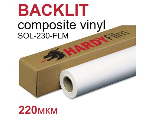 Пленка Backlit Composite Vinyl 220мкм (SOL-230FLM)