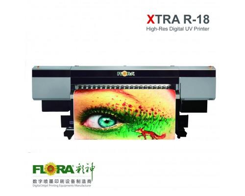 Рулонный широкоформатный УФ-принтер FLORA R18