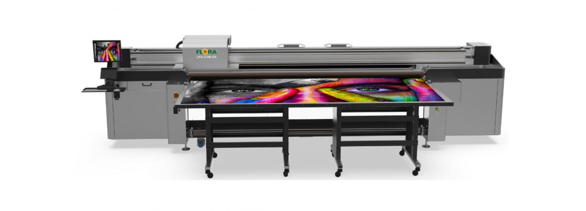 Гибридный УФ-принтер FLORA XTRA 3300H