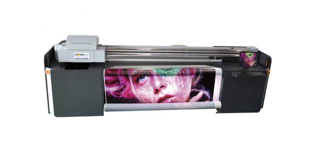 Гибридный УФ-принтер FLORA