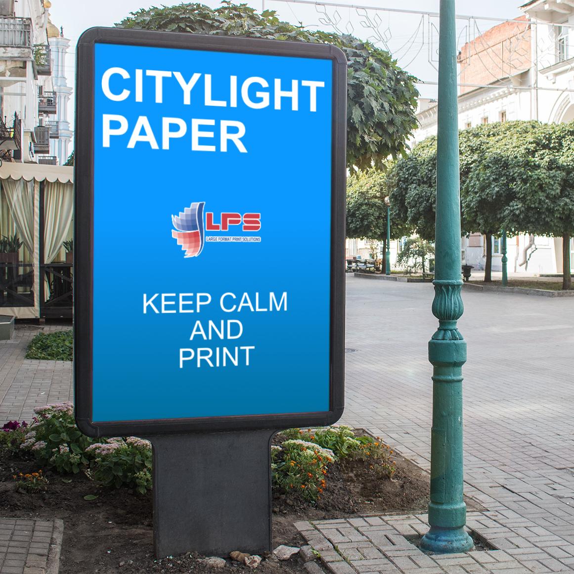 Бумага citylight