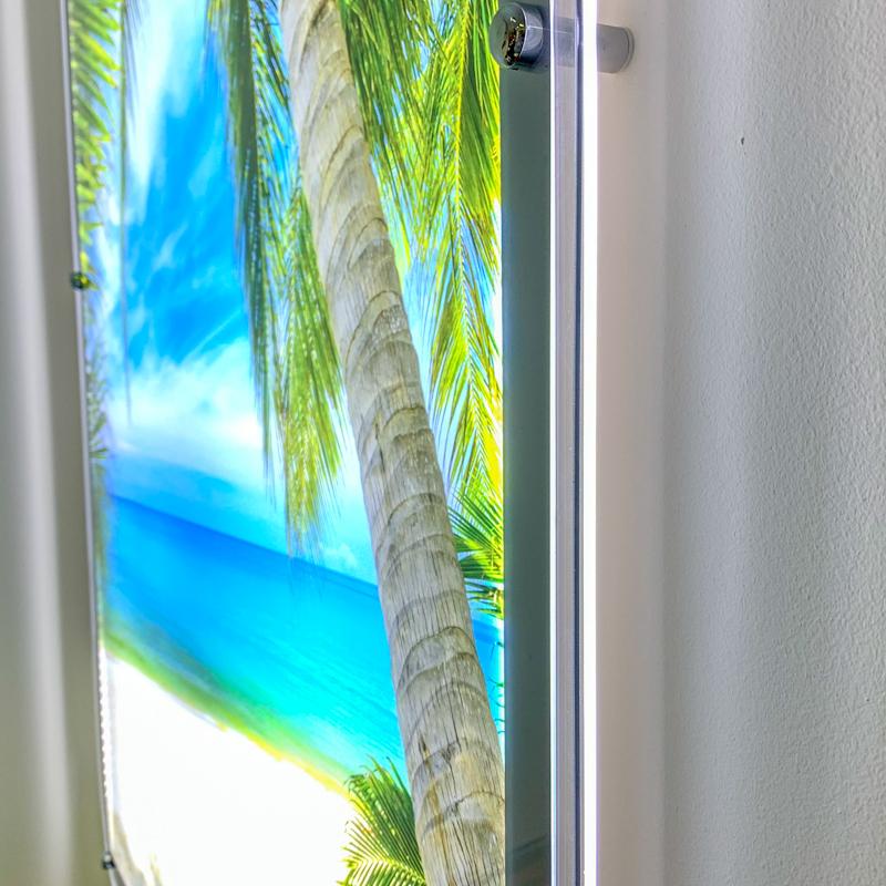 Рекламная световая панель Инлайт