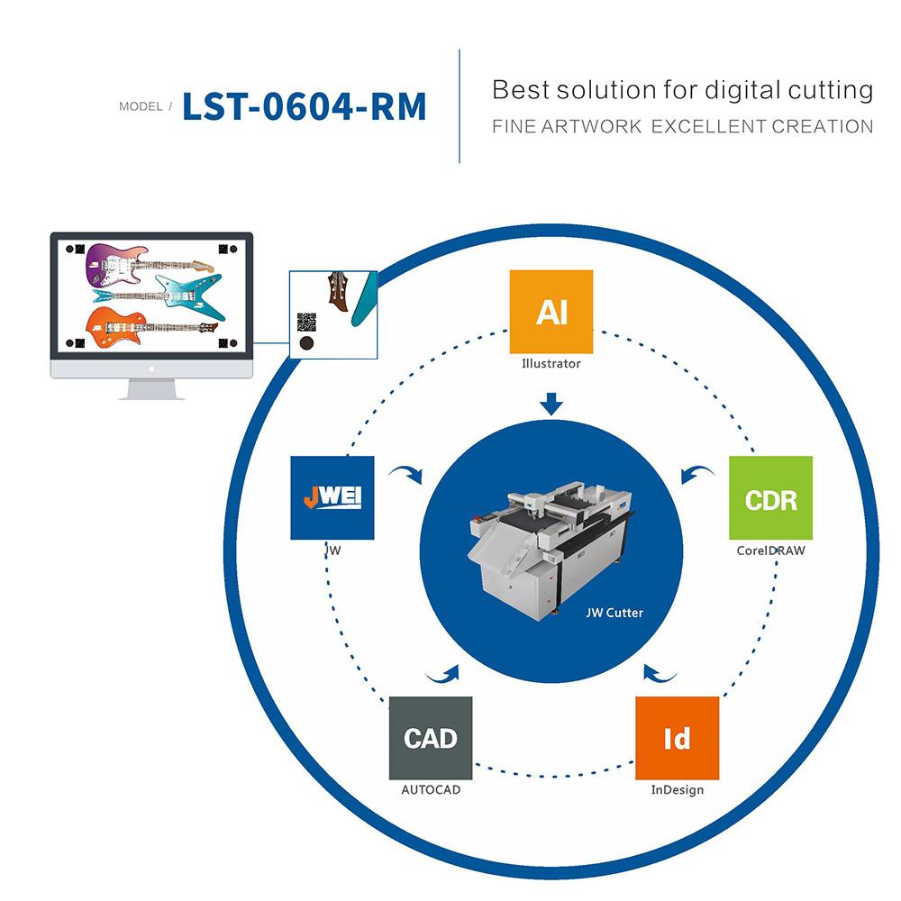 Умный софт для умного цифрового каттера JWEI LST-0604-RM